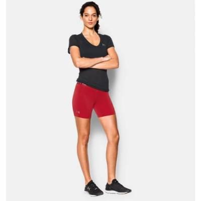 "Under Armour® Women's HeatGear® 5"" Compression Shorts Main Image"