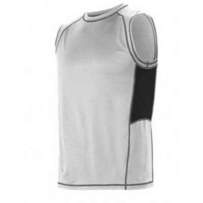 Alleson Youth Fitted Sleeveless Training Shirt Main Image