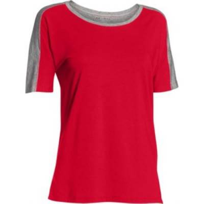 Under Armour® Team Uptown Flow Women's Short-Sleeve Semi-Scoop Neck T-Shirt Main Image