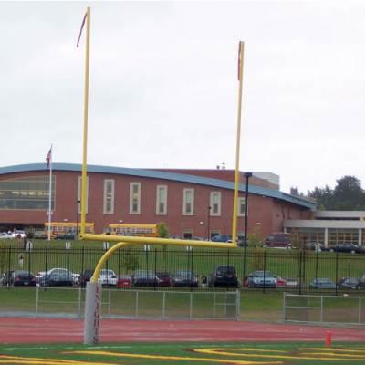 Aluminum Collegiate Football Goalposts Main Image