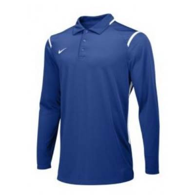 Nike Gameday Men's Long-Sleeve Football Polo Main Image