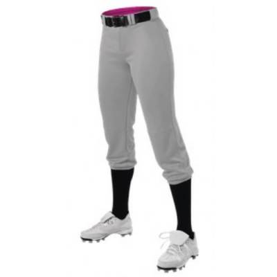 Alleson Women's Belted Premium Fastpitch Pant Main Image