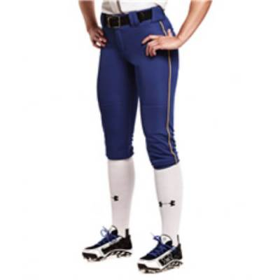 Under Armour® One-Hop Women's Low-Rise Softball Pants Main Image