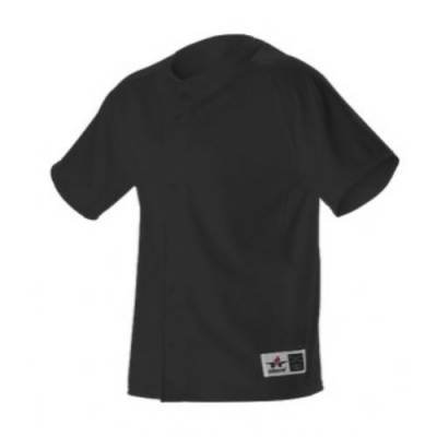 Alleson Athletic Youth Warp Knit Full-Button Jersey Main Image