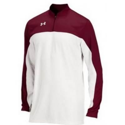 Under Armour® Lottery Stock Long-Sleeve Mock Neck Basketball Shooter Shirt Main Image