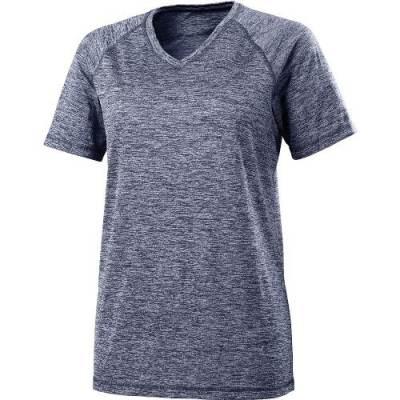 Holloway Ladies' Electrify 2.0 S/S V-Neck Shirt Main Image