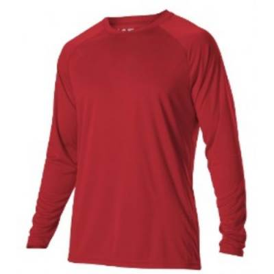 Alleson Youth Long Sleeve Tech Tee Main Image