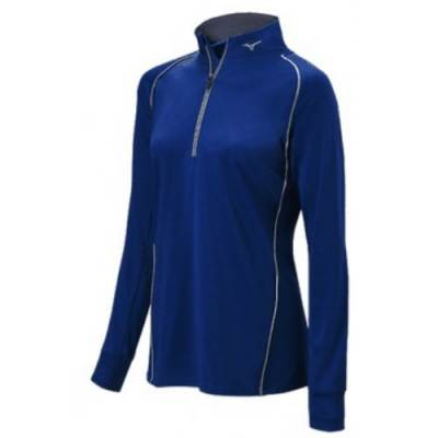 Mizuno Girls Comp 1/2 Zip Hit Top Main Image