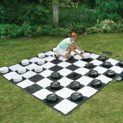 Giant Checker Set Main Image