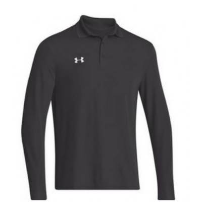 Under Armour® Performance Men's Long-Sleeve Golf Polo Main Image