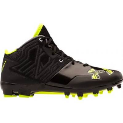 Under Armour® Banshee MC Men's Mid-Top Lacrosse Cleats Main Image