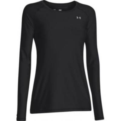 Under Armour® HeatGear® Armour Women's Long-Sleeve Scoop Neck T-Shirt Main Image