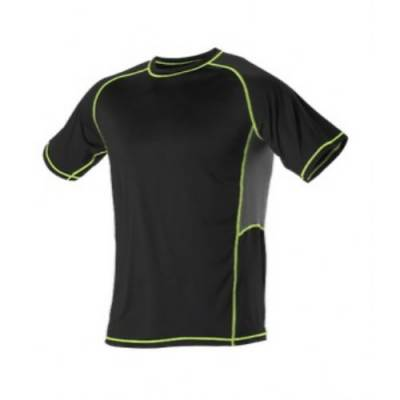 Alleson Fitted Short Sleeve Training Shirt Main Image