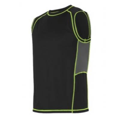 Alleson Fitted Sleevesless Training Shirt Main Image