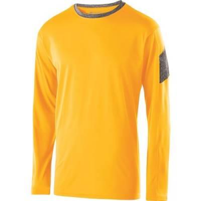 Holloway Youth Electron LS Shirt Main Image