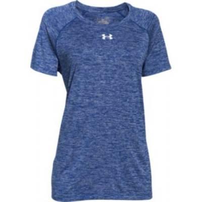Under Armour® Twisted Tech™ Locker Women's Short-Sleeve Crew Neck T-Shirt Main Image