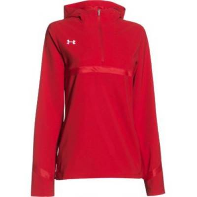 Under Armour® Pregame Women's 1/4-Zip Pullover Main Image