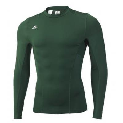 Russell Athletic Tight-Fit Cold Weather Long Sleeve Crew Main Image