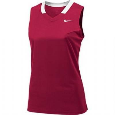 Nike Face-Off Stock Women's Sleeveless V-Neck Lacrosse Jersey Main Image