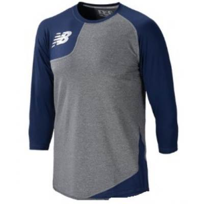 New Balance Men's Asymmetrical Base Layer Righty Baseball Shirt Main Image