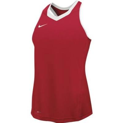 Nike Cutback Women's Sleeveless V-Neck Racerback Lacrosse Jersey Main Image