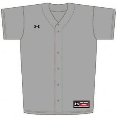 Under Armour® Youth Stock Rundown Baseball Jersey Main Image