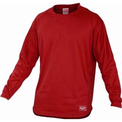 Rawlings® Dugout Men's Baseball Pullover Main Image