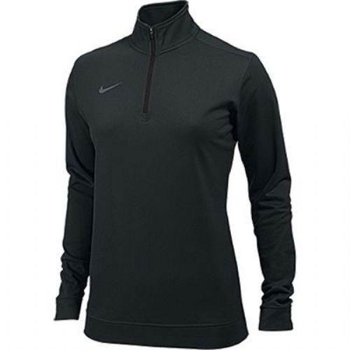 nike quarter zip pullover. nike women\u0027s dri-fit 1/2 zip pullover main image quarter s