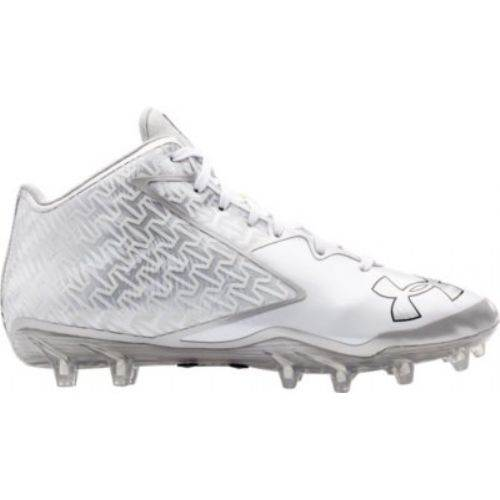 under armour football cleats. under armour® nitro d men\u0027s mid-top football cleats main image armour