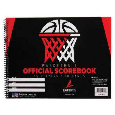Basketball Scorebook Main Image