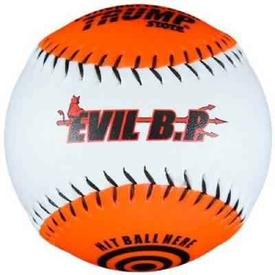 Trump® AK-EVIL-BP Evil Sports Synthetic Leather 12 Inch Batting Practice Softball Main Image