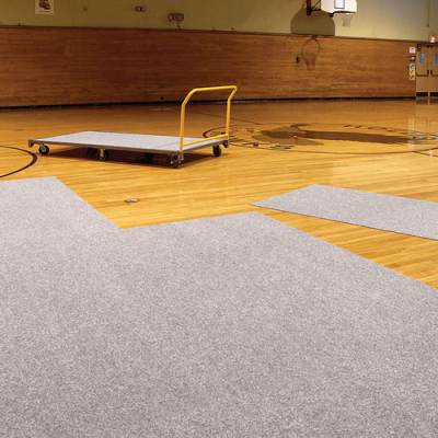 Pro Shield Gym Floor Tile Cart Main Image