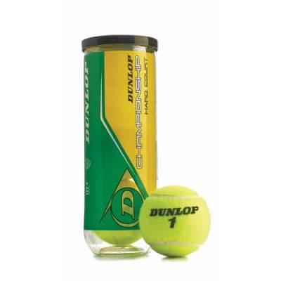 Dunlop® Championship Hard Court Tennis Balls (3-Pack) Main Image