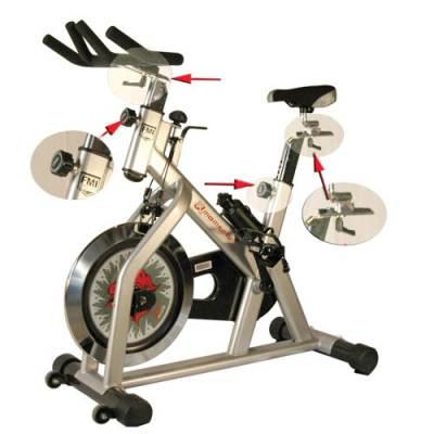 Momentum Exercise Bike Main Image