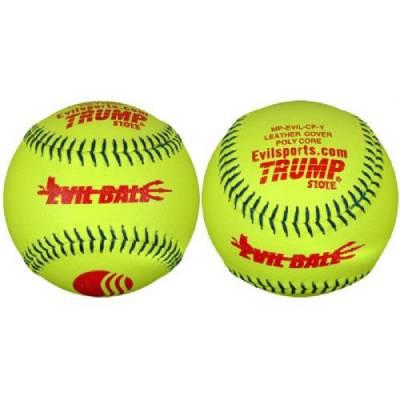 Trump® MP-EVIL-CP-Y Evil Sports 12 Inch 52/275 USSSA Classic Plus Leather Softball Main Image