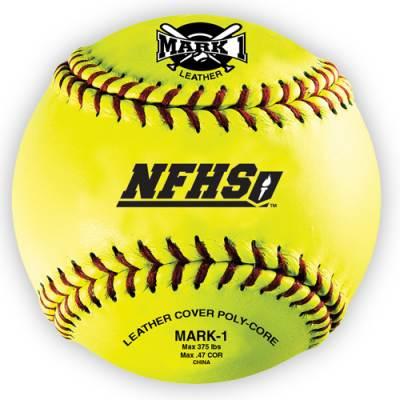 "Mark 1™12"" NFHS Softballs (12-Pack) Main Image"