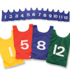 Numbered Nylon Pinnies