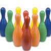 Multi-Color Foam Bowling Set