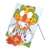 Large Clown Bean Bag Board Game