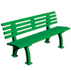 Poly Bench 5 ft-Green