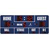 14' X 5' Baseball Scoreboard