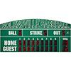 "20' X 6'6"" Baseball Scoreboard"