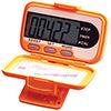 Electric Three Fuse Orange Pedometer