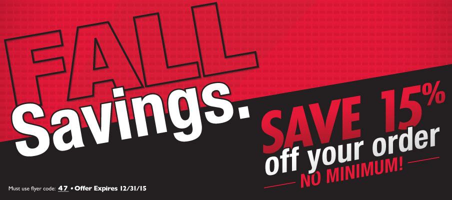 BSN Fall Savings 15 Off