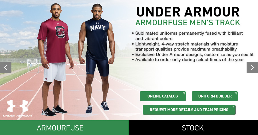 under armour jersey maker