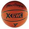 Rubber Basketball with YMCA Logo