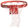Braided Polyethylene Basketball Net