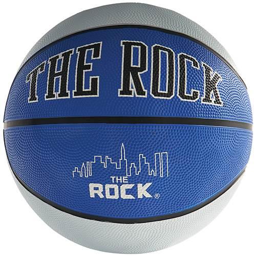 Ball on Basketball on Rock Screen Print
