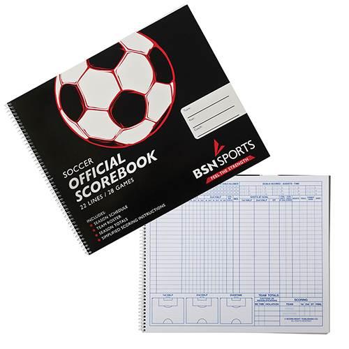 Soccer Scorebook | BSN SPORTS