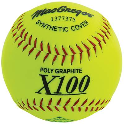"MacGregor X52RE ASA Slow Pitch 12"" Softball - Synthetic Main Image"
